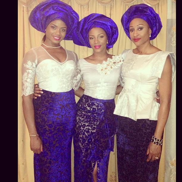 Genevieve Nnaji in traditional wear