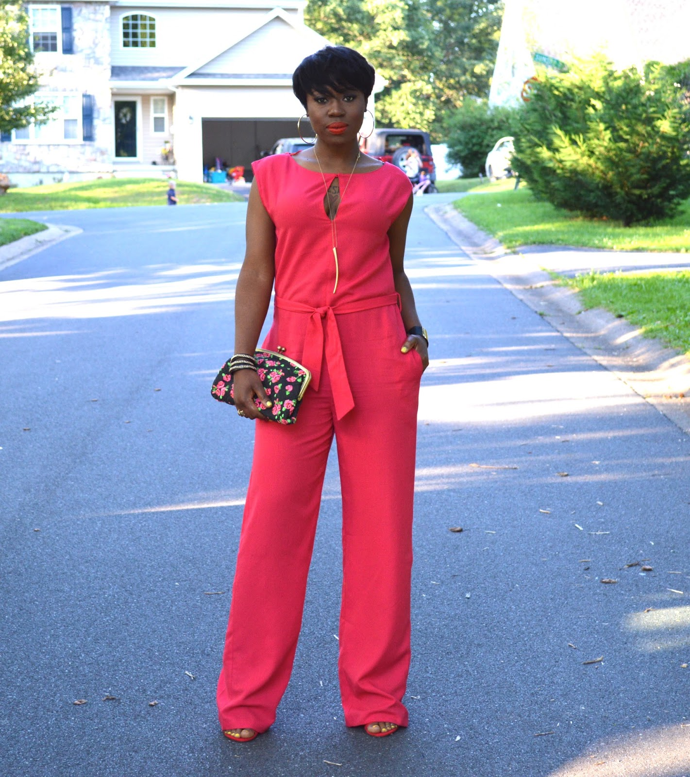 pretty haute jumpsuit blogger