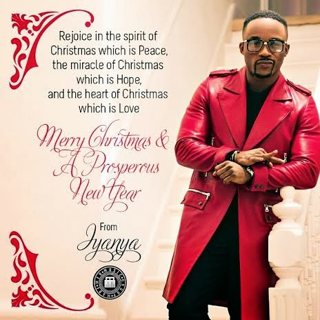 iyanya christmas card