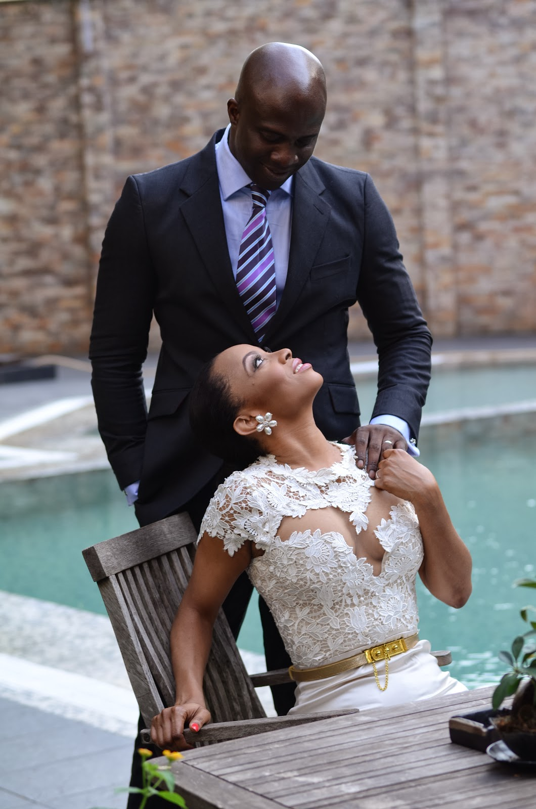 toke makinwa and maje ayida married