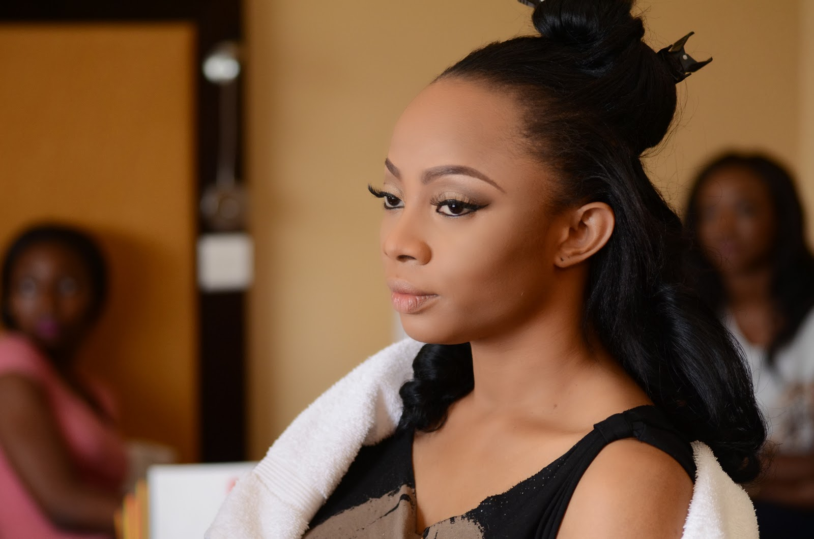 toke makinwa wedding photos