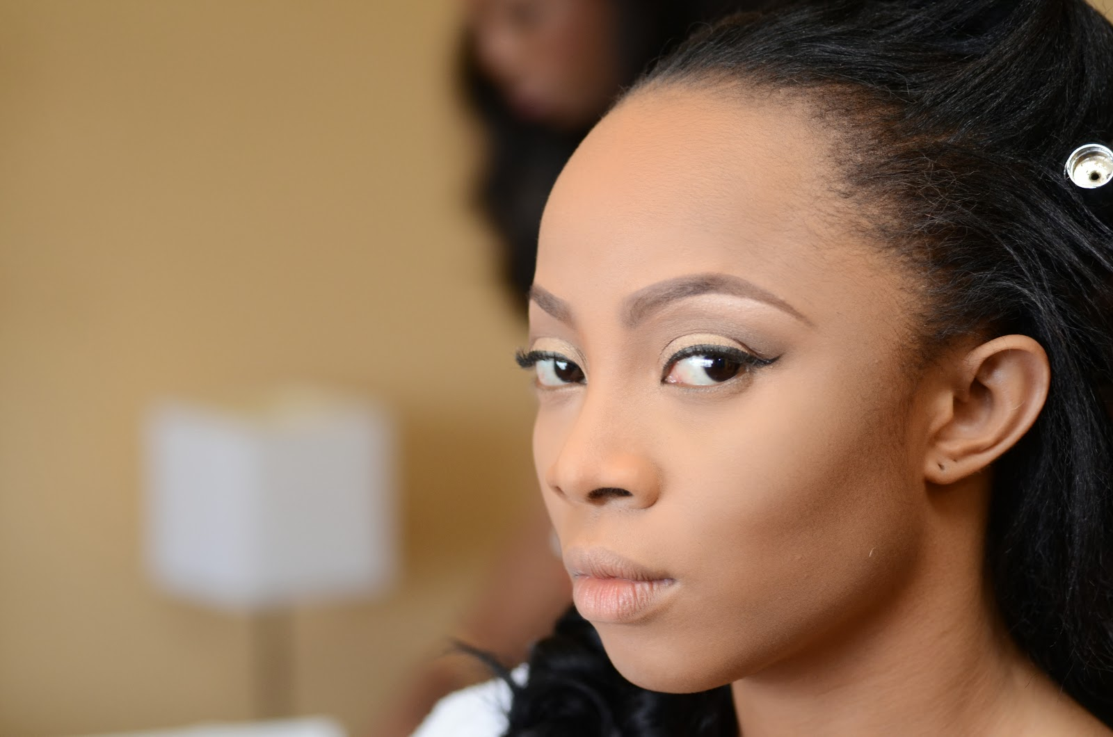 toke makinwa wedding makeup