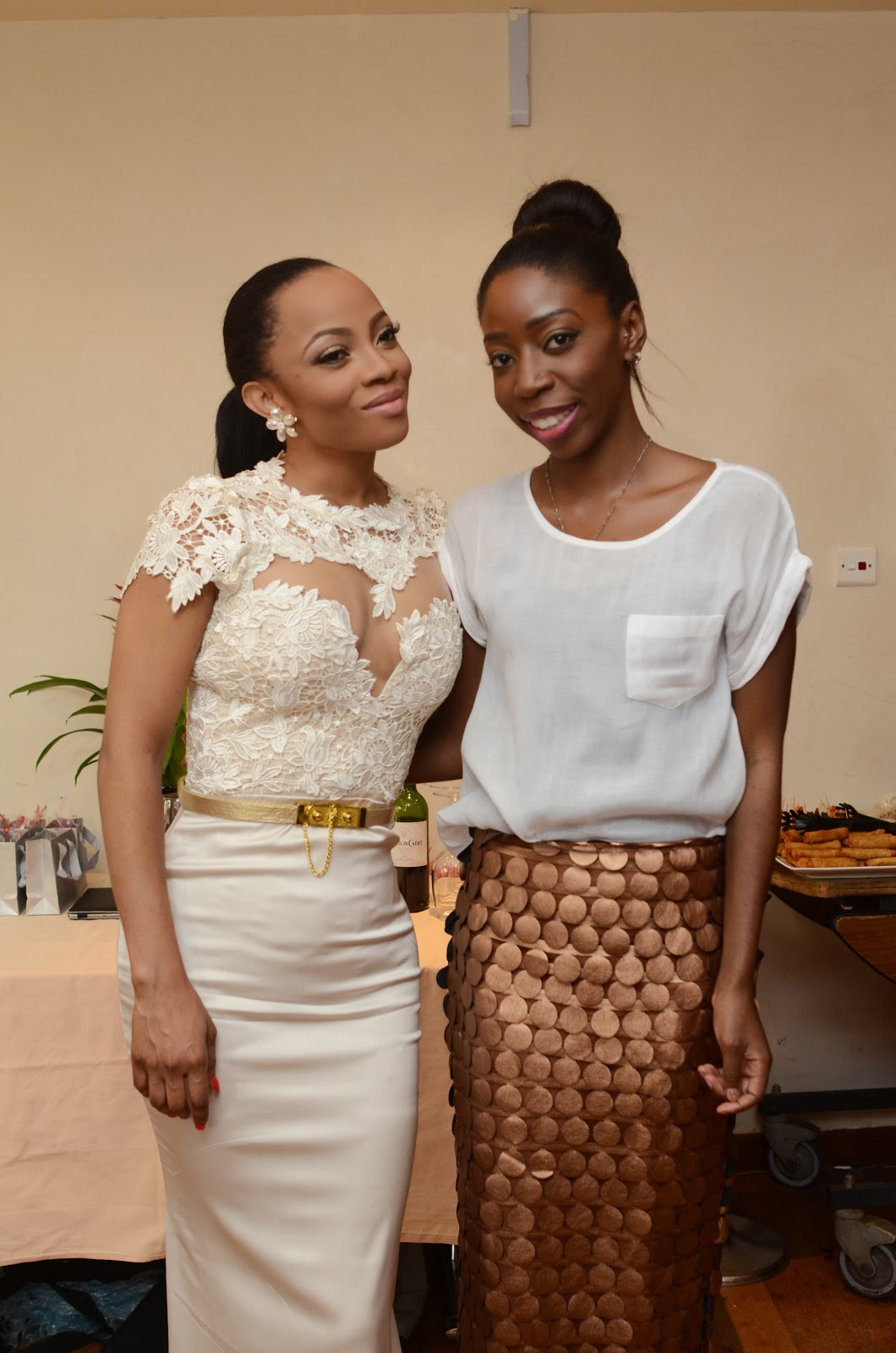 toke makinwa wedding guests