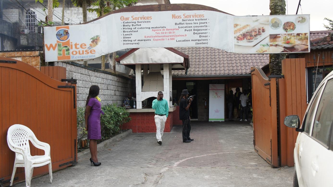 white house restaurant cameroon