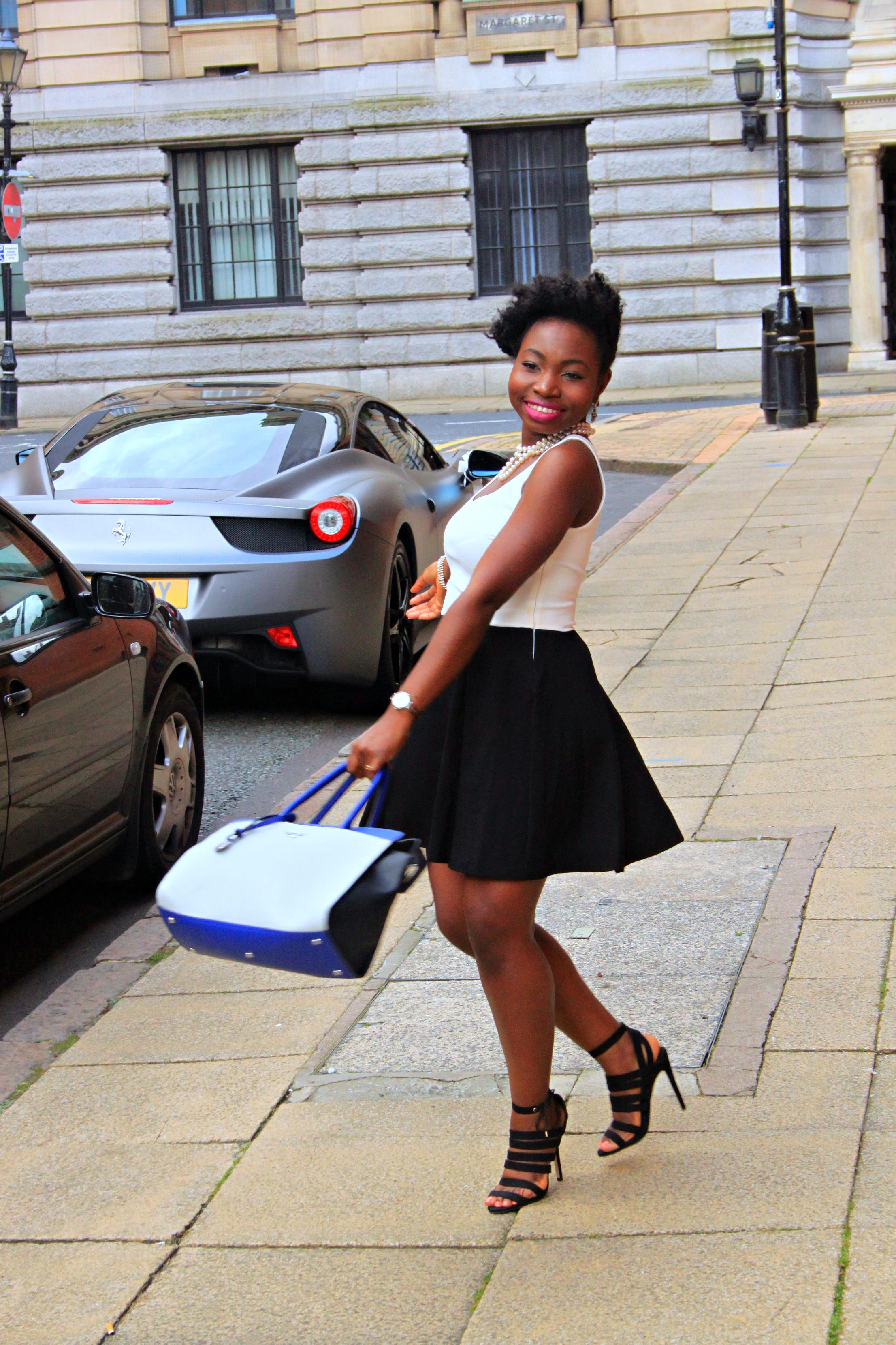 skater dress black girl blog